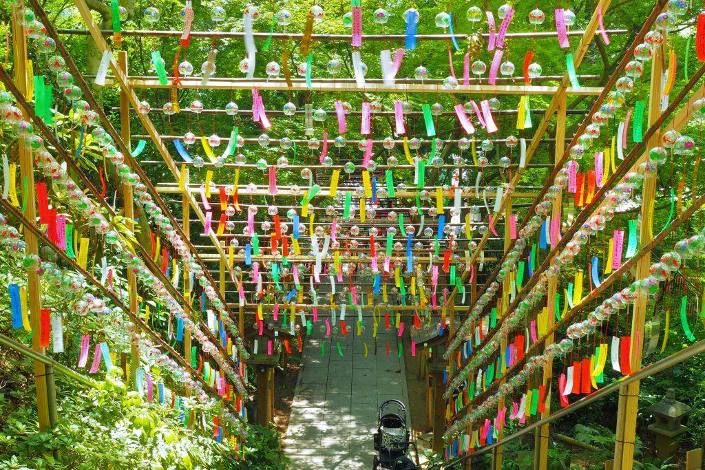 如意輪寺・かえる寺の風鈴まつり