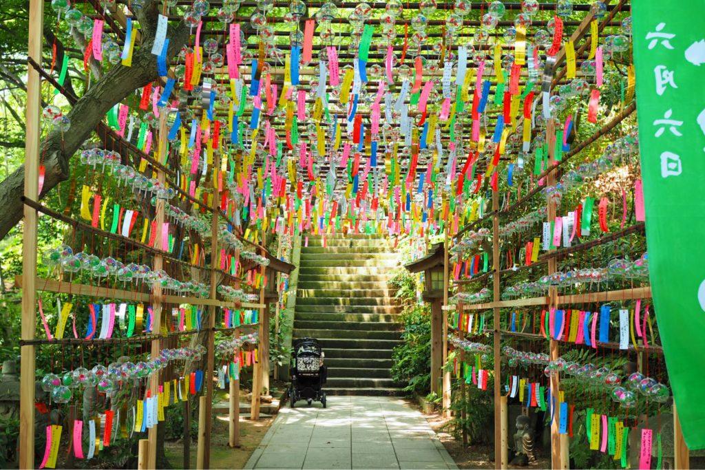 如意輪寺・かえる寺の風鈴