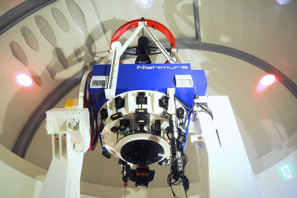 星の文化館の天体望遠鏡