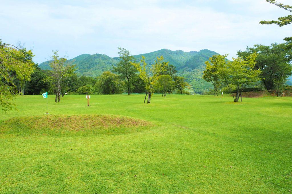 池の山のグラウンドゴルフ