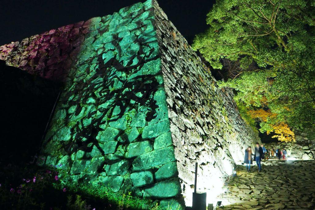 チームラボ 福岡城跡 光の祭 2019-2020